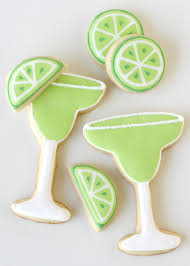 margarita outline margarita cookies decorating how to u2013 glorious treats