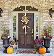backyards fall front door ideas design pinterest wreaths decor
