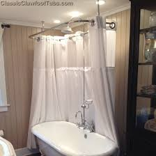 Clawfoot Tub Shower Curtain Ideas Clawfoot Tub Shower Curtain Ideas Clawfoot Tub Shower For