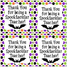 spooktacular teacher freebie halloween gift ideas children