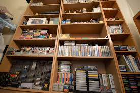 remarkable pieces and video game bits in james matsons game room
