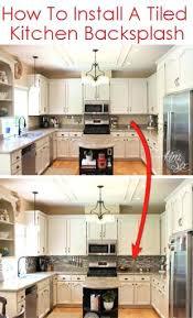 how to put backsplash in kitchen installing backsplash tile in kitchen dsmreferral