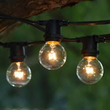 String Of Patio Lights Commercial Outdoor String Lights C9 Base Partylights