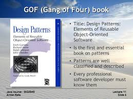 of four design patterns java course 11 design patterns
