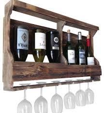 Barn Board Wine Rack Wine And Glass Rack Sosfund