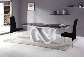 table cuisine moderne design table salle a manger 6 8 personnes buffet haut design blanc moderne