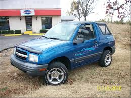 chevy tracker kcraptor82 2000 chevrolet trackersport utility convertible 2d