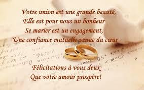 texte voeux mariage meilleuretendance félicitations mariage