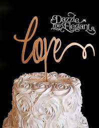 wood cake toppers wooden cake toppers craft letters