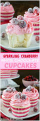 sparkling cranberry white chocolate cupcakes recipe tables
