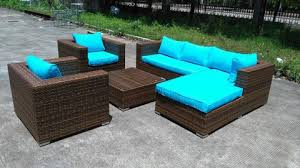 Rattan Outdoor Patio Furniture by Baja Deluxe Wicker Rattan Outdoor Patio Furniture Set U2013 San Diego