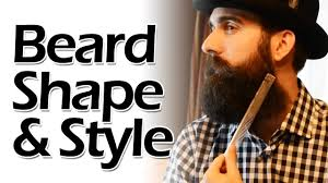how to measure your beard length discover your beard shape and style youtube