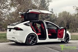 suv bentley white pearl white 2016 tesla model x p90d ludicrous custom bentley red