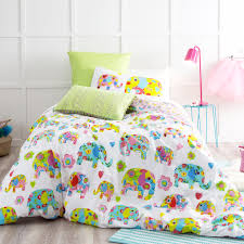 habitat waterlily quilt cover set king bed multi colour bed