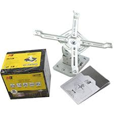 Retractable Projector Ceiling Mount by Projector Ceiling Mount Bracket Universal Up To 10kg Uk Amazon Co