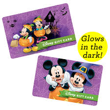 halloween gift halloween disney gift cards now available disney parks blog