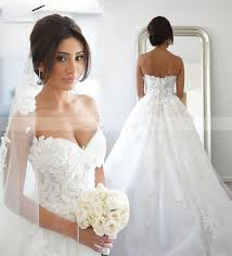 Princess Wedding Dresses Online Shop 100 Real Photo Elegant A Line Lace Princess Wedding