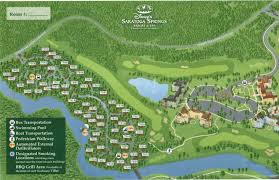 saratoga springs resort map kennythepirate u0027s unofficial disney