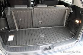 jeep wrangler cargo dimensions cargo space 2014 toyota highlander limited term road test