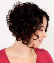 angled curly bob haircut pictures 15 short curly hairstyles