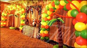 jungle themed birthday party jungle theme decor best safari zoo themed birthday party planner