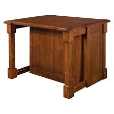 home styles kitchen islands aspen rustic cherry kitchen island with 2 stools wood brown home
