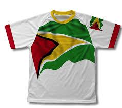 Guyana Flag Amazon Com Guyana Flag Technical T Shirt For Men And Women Clothing
