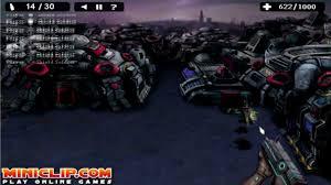 robot shooting a free shoot u0027em up game