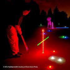 light up golf balls night sports spectrum 12 pack light activated 7 color led golf balls