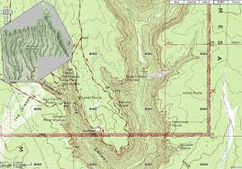 Map Of United States National Parks by File Mesa Verde National Park Soda Canyon Map Jpg Wikipedia