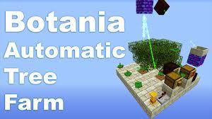 botania automatic tree farm tutorial