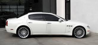 maserati granturismo white black rims 2008 maserati quattroporte executive gt automatic stock 5954 for