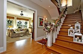 Banister Christmas Garland Top 40 Stunning Christmas Decorating Ideas For Staircase