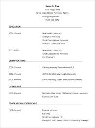 simple ideas free format for resume super microsoft word template