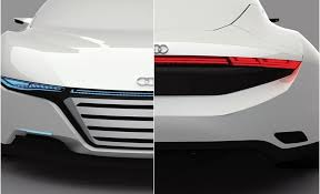 audi color changing car audi a9 concept car repairs itself and changes colour trending