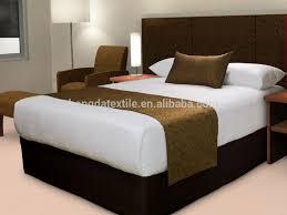 drap en satin de coton en coton égyptien de luxe length325mm drap de lit en satin literie