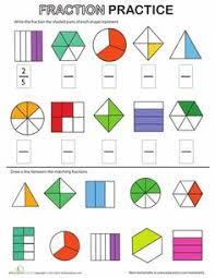 math worksheets grade 2 worksheets fractions worksheet i don u0027t
