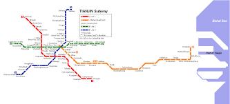 Tianjin China Map Metroscheme Com Tianjin Subway Map Tianjin Metro Scheme