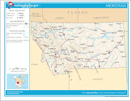Montana On Us Map by Maps United States Map Montana