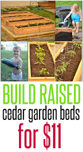 Making A Raised Bed Garden From Roof Panels Planting A Raised Garden Bed Fences Building And Gardens