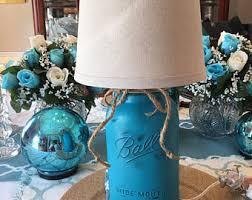 mason jar lamp etsy