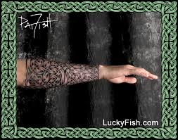 celtic sleeves armor and knotwork coverage tattoos