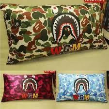 camo home decor hot camo shark home décor rectangular a bathing ape bape living room