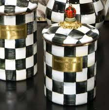black and white kitchen canister sets with this black and white