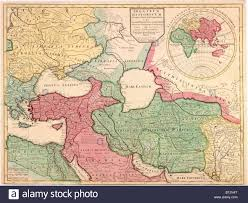 Map Of Europe Asia by 1712 French Map Of Southwest Asia And Southeast Europe Recreating