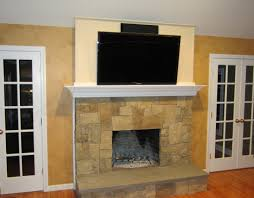 Gas Fireplace Ct by New Ideas Fireplace Mantels With Tv Above With Gas Fireplace