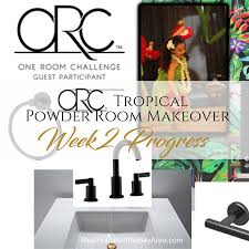 fall 2017 one room challenge guest participants week 2017 one room challenge powder room makeover week 2