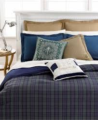 Lauren Ralph Lauren Blackwatch Yarn Dyed Plaid Bedding Collection