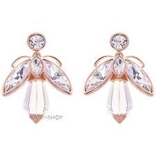 baker earrings ted baker gold plated geenn geometric bee earring