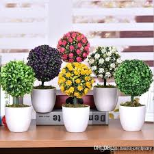 cheap artificial flowers artificial plants for office decorative green artificial flowers